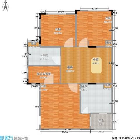 金球怡云花园玫瑰里3室0厅2卫0厨247.00㎡户型图