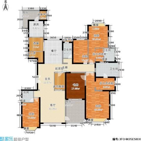恒大海口文化旅游城5室0厅4卫1厨300.00㎡户型图