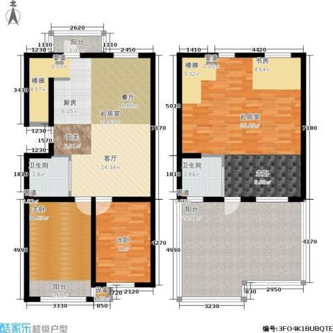 大树花园2室0厅2卫0厨186.00㎡户型图