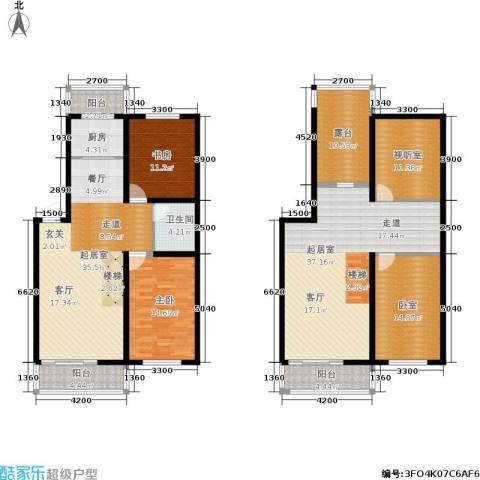 龙腾金荷苑2室0厅1卫1厨155.44㎡户型图