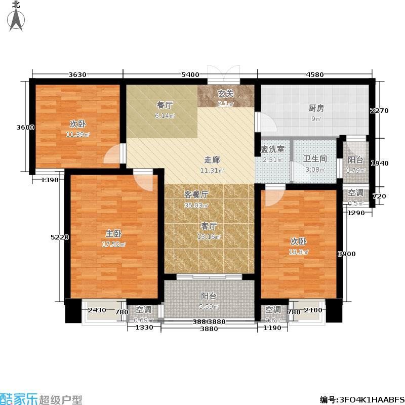 京皖财富中心京皖・财富中心折页1#F1户型