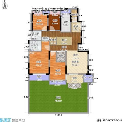 佳兆业城市广场4室0厅2卫1厨200.15㎡户型图