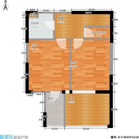 嘉联华铭座.宝善公寓2室0厅1卫0厨128.00㎡户型图