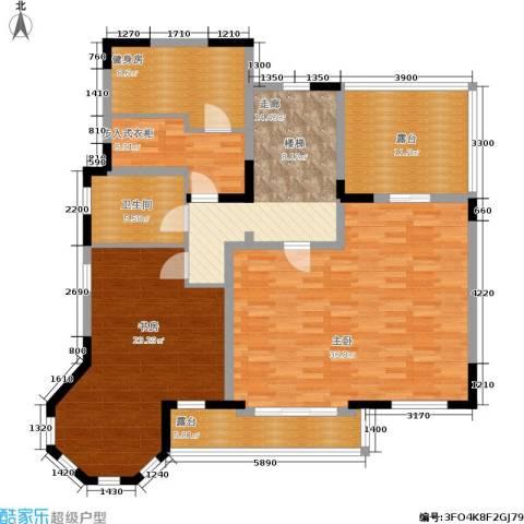 世外桃苑・峰景湾2室0厅1卫0厨158.00㎡户型图