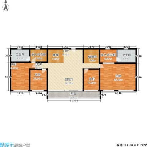 自然家园 大同府4室1厅2卫0厨267.00㎡户型图