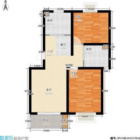 高速云水湾2室1厅0卫2厨112.00㎡户型图