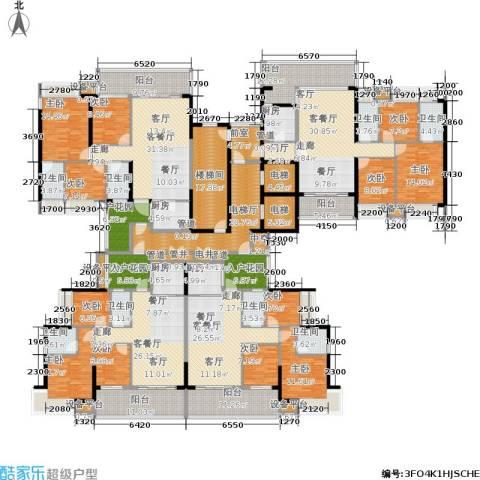敏捷・锦绣明珠9室4厅8卫4厨405.29㎡户型图