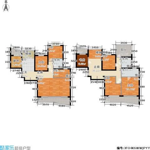 长宁新城7室0厅3卫1厨251.25㎡户型图