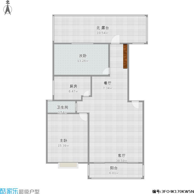 阳城美景-89平-米两厅两卫