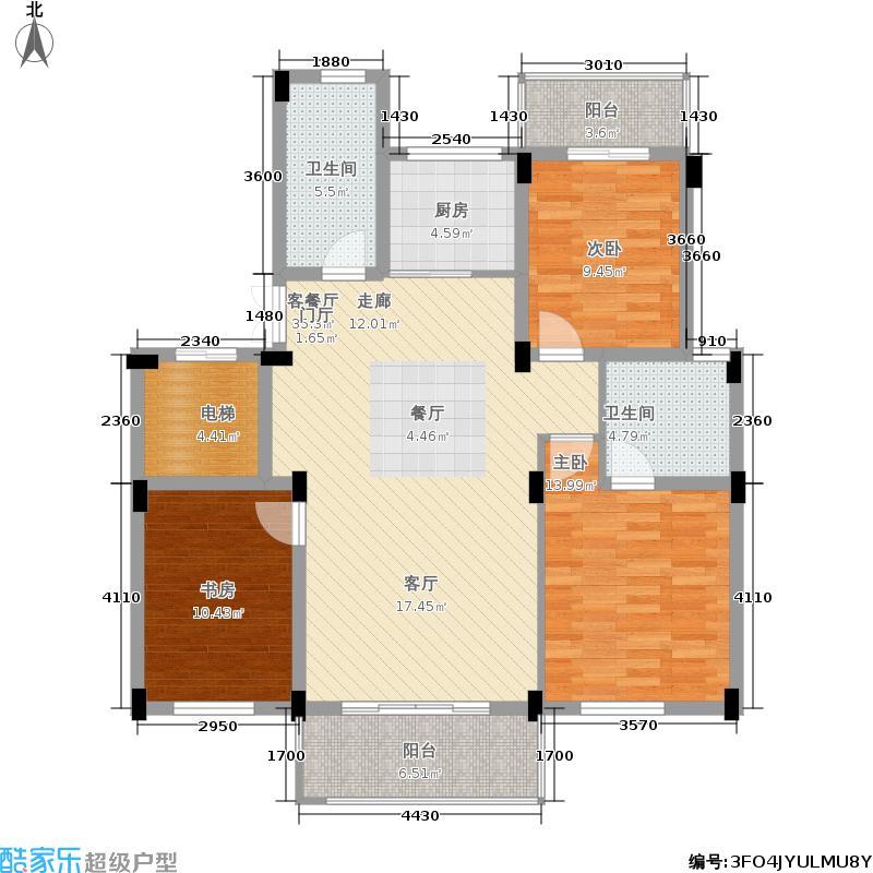 建工枫丹白露112.00㎡建工・枫丹白露W`户型