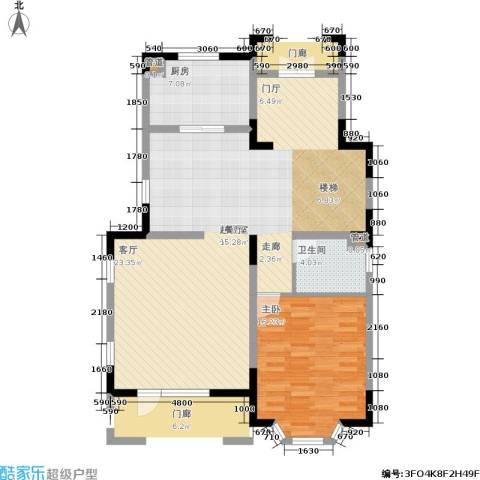 世外桃苑・峰景湾1室0厅1卫1厨115.00㎡户型图
