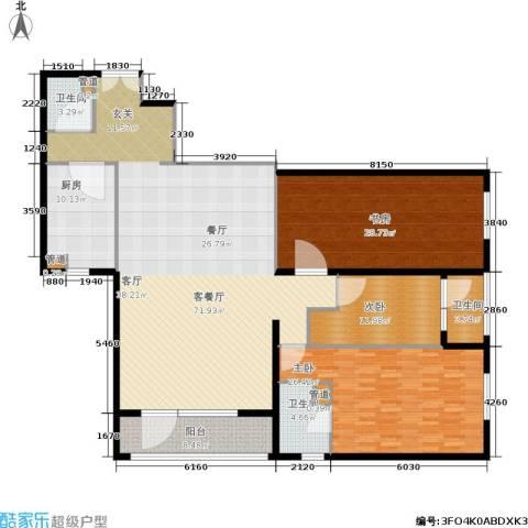 天缘公寓(尾盘)3室1厅3卫1厨187.00㎡户型图