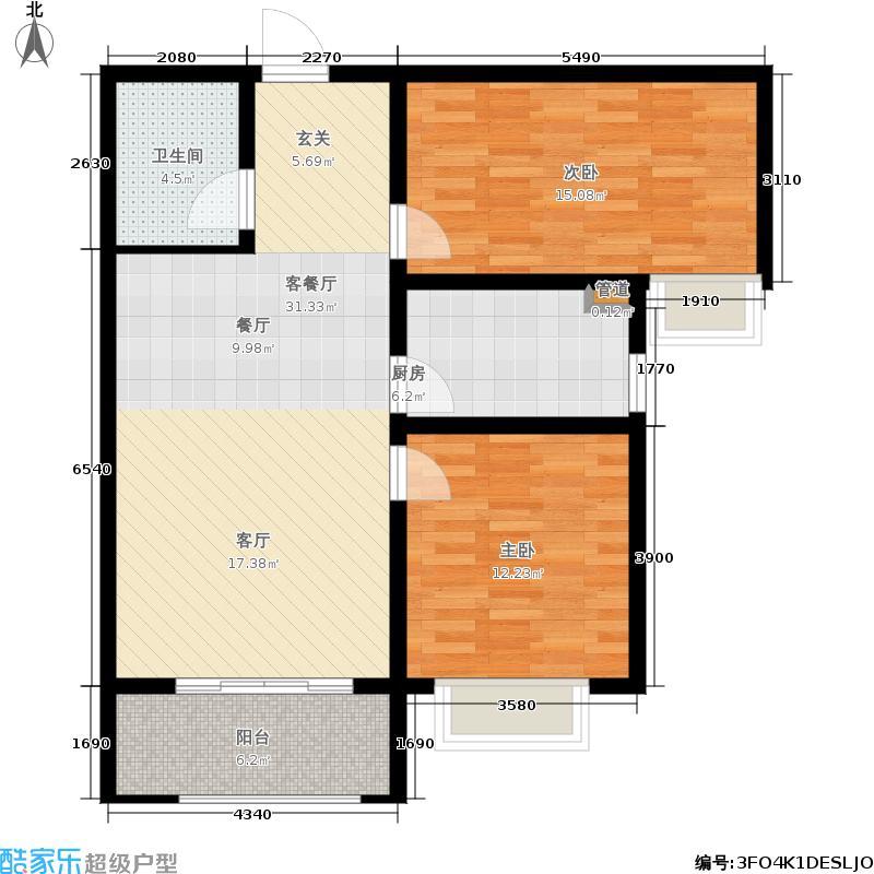 龙田府邸B6户型