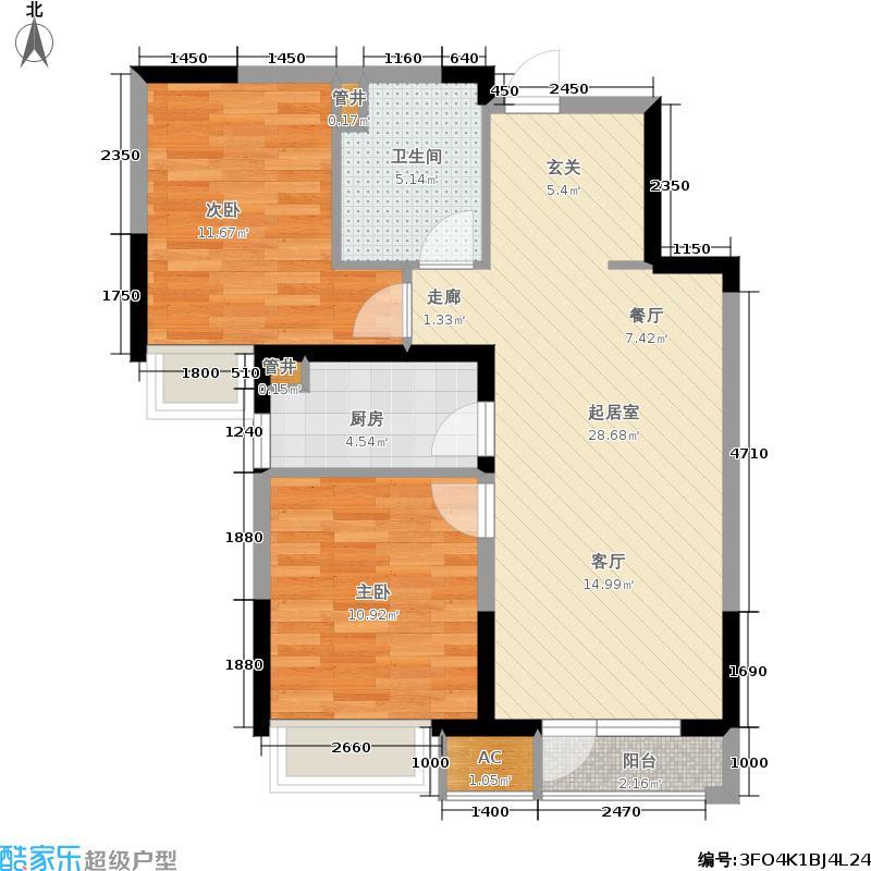 万科金域国际Y2洋房户型