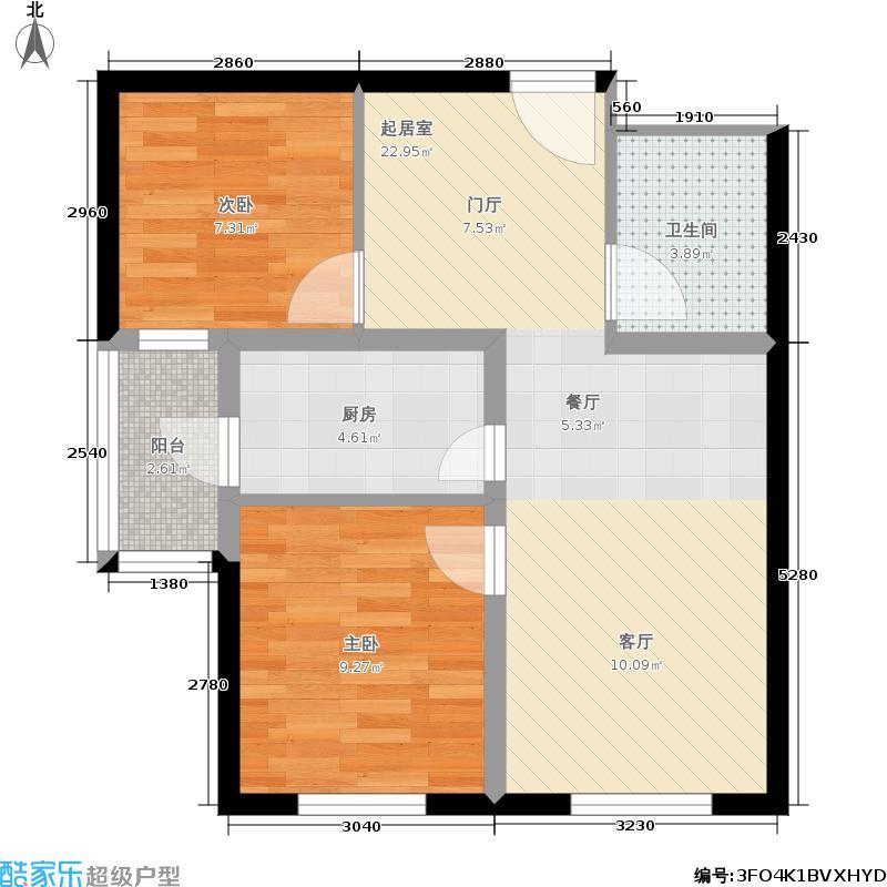 欣豪凤凰城3E户型