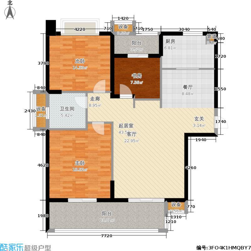 天利仁和44#楼4-29层A户型