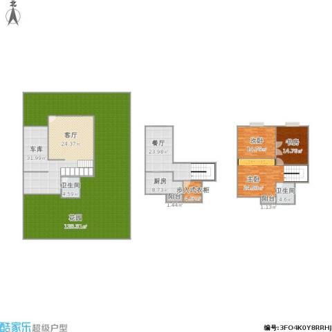 泰盛绿岛3室1厅2卫1厨376.00㎡户型图