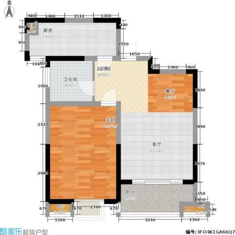 英祥承德公馆1室0厅1卫1厨69.00㎡户型图