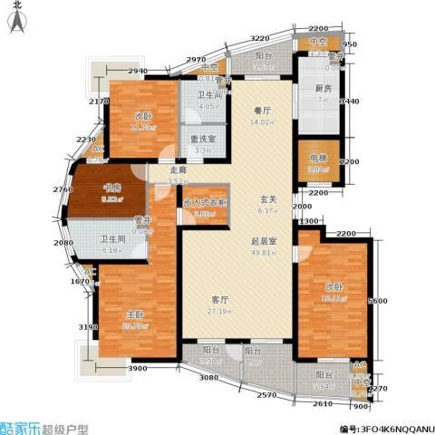 众成格林星城4室0厅2卫1厨190.00㎡户型图
