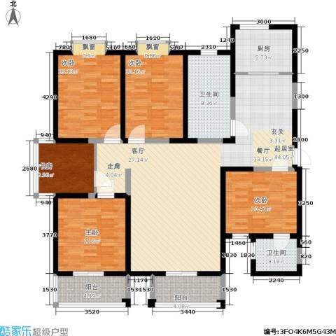富海・城市印象5室0厅2卫1厨177.00㎡户型图