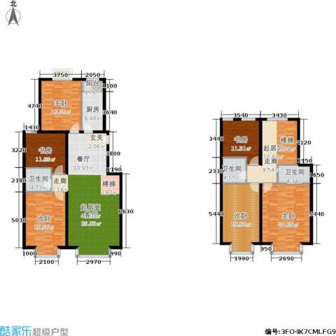 温莎公馆6室0厅3卫1厨260.00㎡户型图