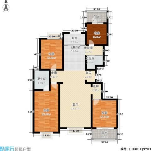 宏宇城4室0厅2卫1厨196.00㎡户型图