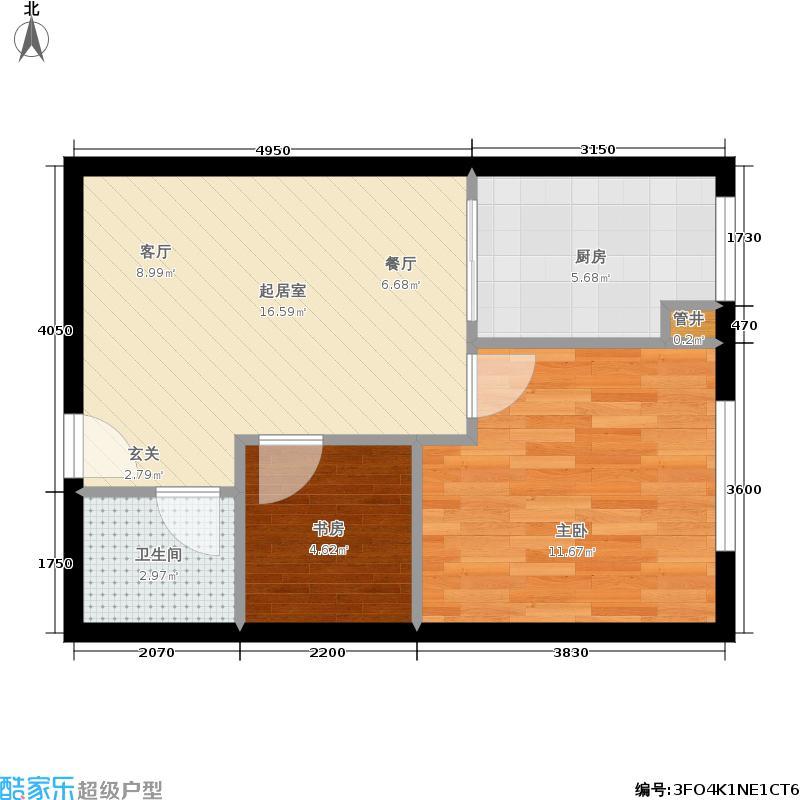 凤城国际广场B户型