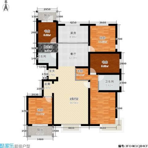 宏宇城5室0厅2卫1厨191.00㎡户型图