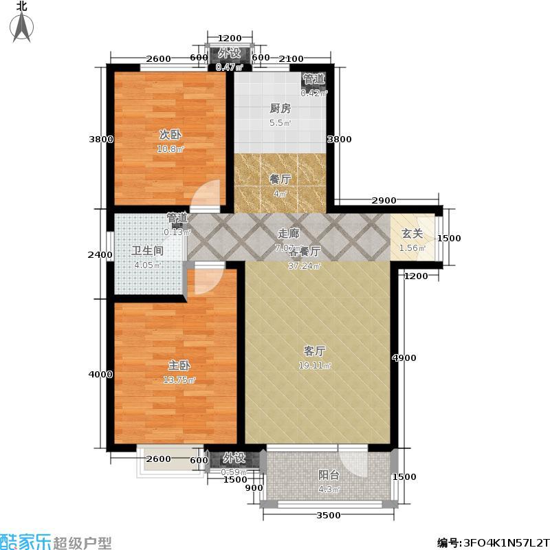 新华联广场10号楼一单元012室户型