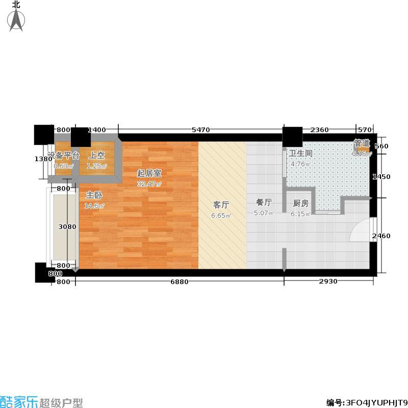 宁兴海天国际广场44.82㎡A6户型