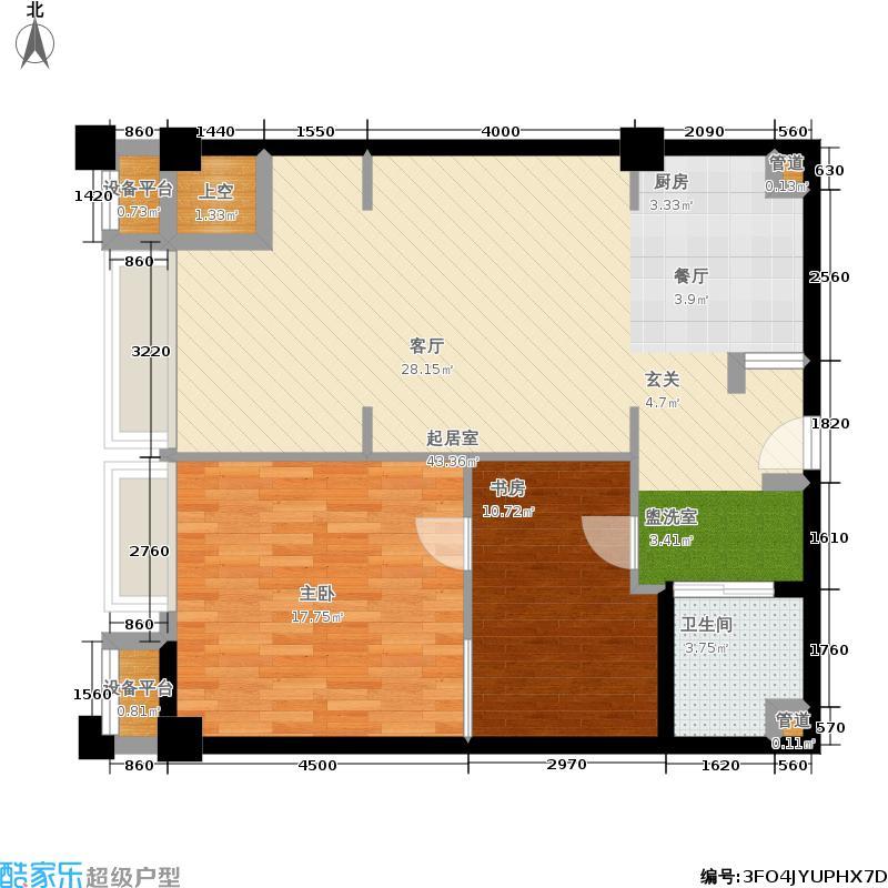 宁兴海天国际广场89.64㎡A3户型