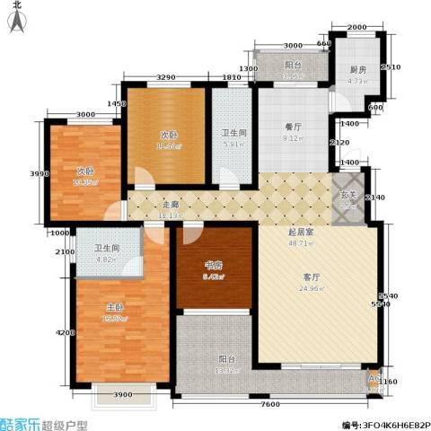 湘银纳帕溪谷4室0厅2卫1厨185.00㎡户型图