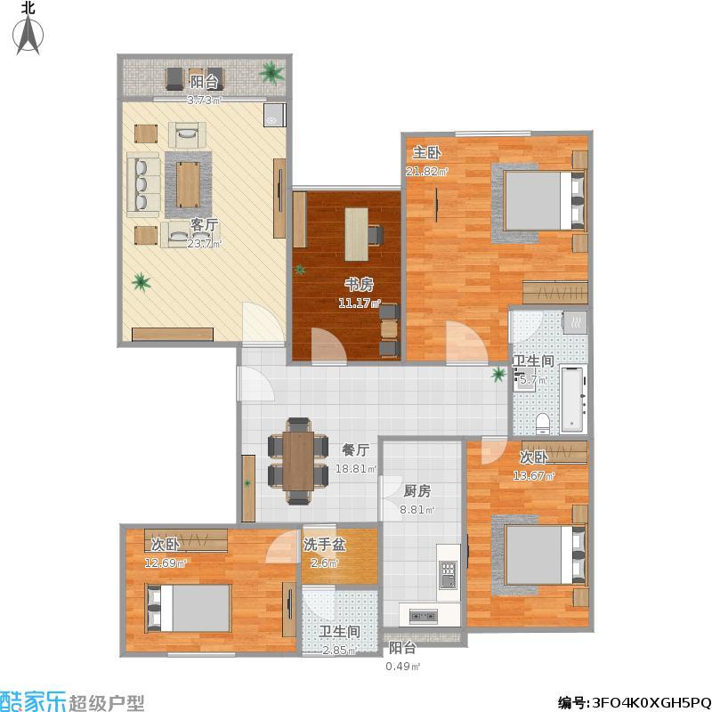 盛华园四室两厅两卫