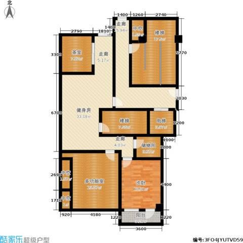 白云山庄1室0厅0卫0厨130.07㎡户型图