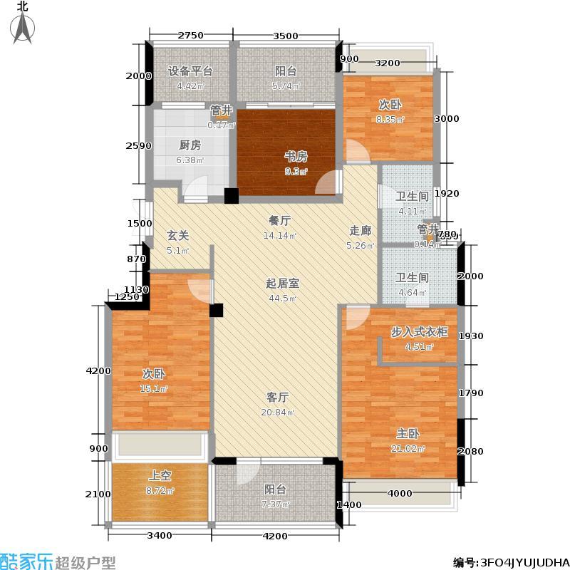 浙能蓝庭140.00㎡浙能・蓝庭C户型