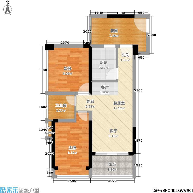 京海成鹿港溪山京海成・鹿港溪山2、3栋A2户型