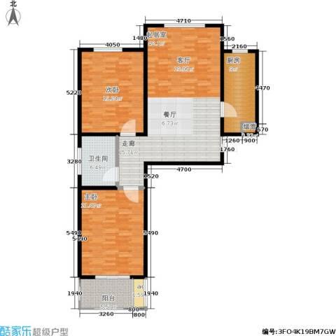 悦正碧林湾1室0厅1卫1厨122.00㎡户型图