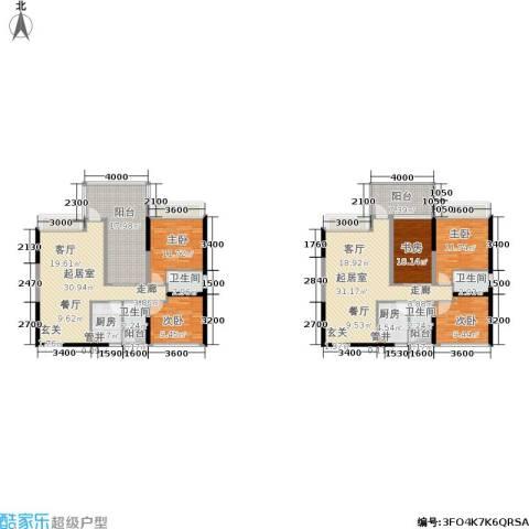 时代东安5室0厅4卫2厨230.00㎡户型图