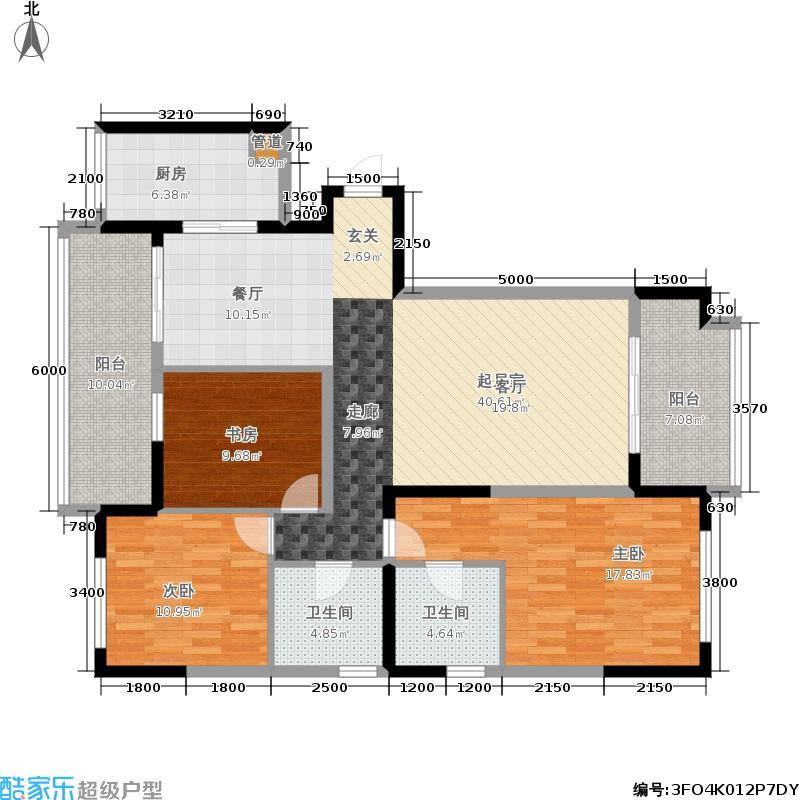宋都美域141.00㎡二期锦园1、6栋面积14100m户型