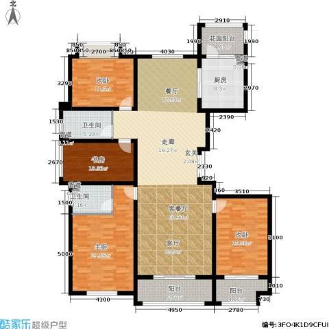 东海・香港城4室1厅2卫1厨174.00㎡户型图
