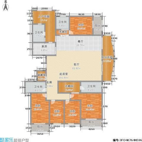 万佳裕园5室0厅4卫1厨308.00㎡户型图