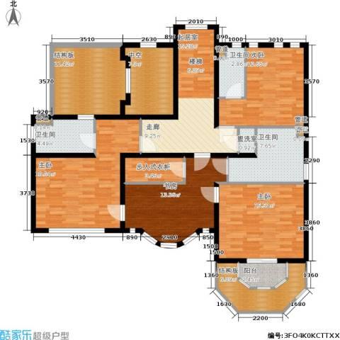 宫4室0厅3卫0厨177.00㎡户型图