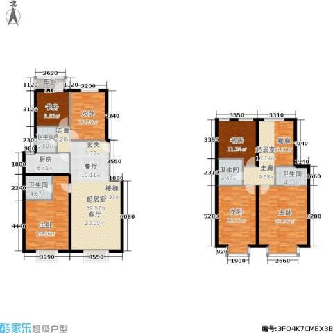 温莎公馆6室0厅4卫1厨243.00㎡户型图