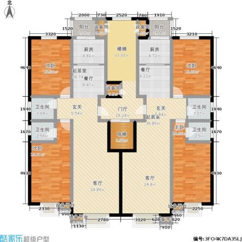睿瀛豪庭4室0厅4卫2厨265.00㎡户型图