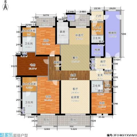 大美城翠园4室0厅4卫1厨258.00㎡户型图