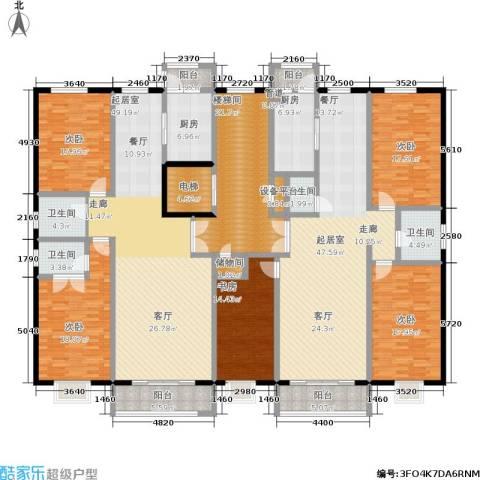 睿瀛豪庭5室0厅4卫2厨360.00㎡户型图