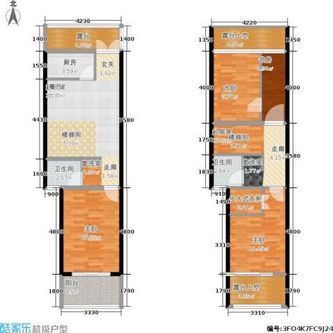 骏明国际4室0厅2卫1厨149.00㎡户型图