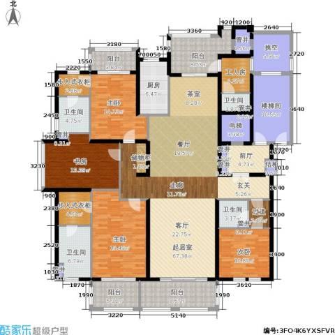 大美城翠园4室0厅4卫1厨249.00㎡户型图