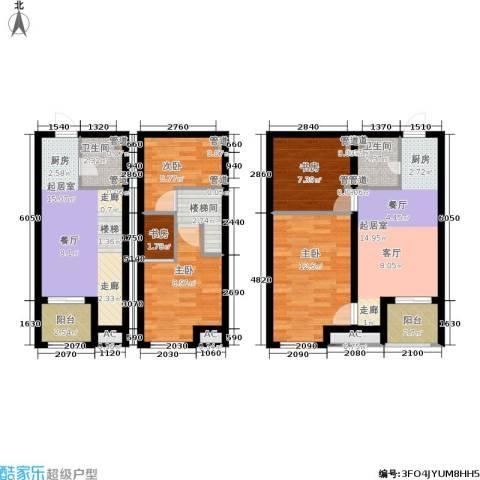 新宏・香榭丽舍5室0厅2卫0厨81.01㎡户型图