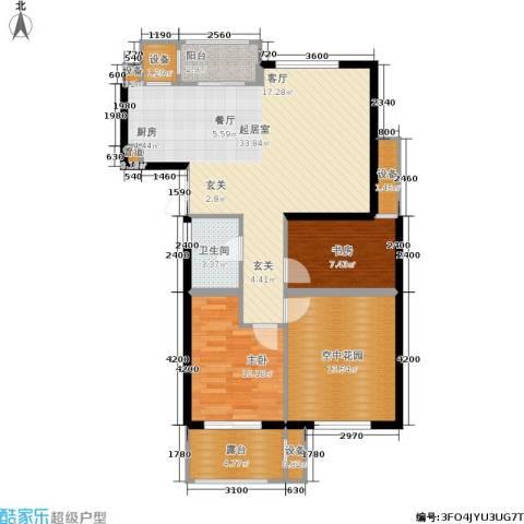 米兰风景2室0厅1卫0厨89.00㎡户型图